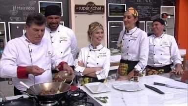 Workshop Curry - Participantes do Super Chef Celebridades aprendem a usar o tempero