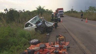 Polícia Civil do AP investiga o que provocou o acidente que resultou na morte de 3 pessoas - A Polícia Civil investiga o que provocou o acidente de trânsito que resultou na morte de três pessoas na última quarta-feira (6). Os relatos do único sobrevivente revelam que o acidente pode ter sido intencional.