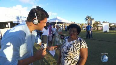 Salvador recebe mais uma edição do Bem Estar Global; veja como participar - Programa da Rede Globo será exibido ao vivo nesta sexta (15) da praça Osório Vilas Boas, na Boca do Rio.