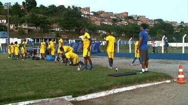 CSA tem semana intensa pensando em jogo decisivo pela Série D - Azulão recebe o Parnayba neste domingo, no Rei Pelé.