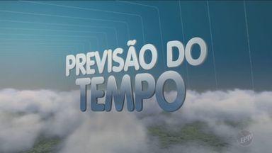 Previsão do tempo para este fim de semana na região é de chuva - Frente fria se aproxima da região. Temperaturas em Campinas (SP) ficam entre 15°C e 30°C.
