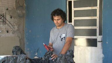 Artista baiano irá expor carranca estilizada durante as Olimpíadas - Conheça a obra do juazeirense Alex Moreira.