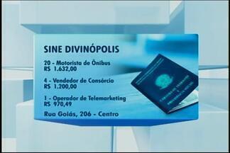 Sine tem novas vagas de emprego em Divinópolis - A unidade oferece vagas para motorista de ônibus urbano, cobrador e farmacêutico. Confira a lista.