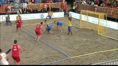 Cheio de paraibanos, Brasil é vice no Mundial de Handebol de Areia - Seleções masculina e feminina foram derrotados nas finais da competição disputada em Budapeste, na Hungria.