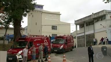 Hospital Rocha Faria ganha nova emergência - Mas o hospital ainda tem problemas de estrutura. Os banheiros estão entupidos e quebrados