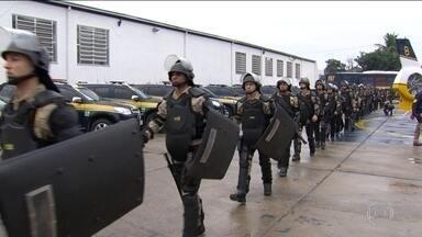 Prisões não mudam esquema de segurança para a Olimpíada do Rio - No Rio, autoridades declararam que a prisão dos suspeitos terroristas não muda em nada o esquema de segurança para a Olimpíada.