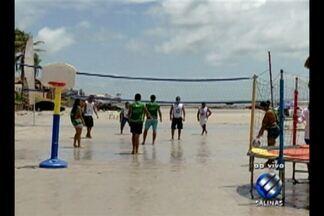 Programação do 'Minha Praia' agita veranistas em Salinópolis - Nos três dias, o público poderá participar de aulão de ritmos, circuito funcional, alongamento e aulas de zumba.
