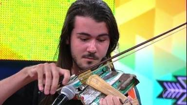 Agora ou nunca - Gabriel realiza o sonho de estudar música no exterior - Gabriel participa de 3 provas para conquistar o prêmio.