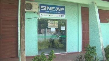Sine de Santana, no Amapá, está com atendimentos suspensos por falta de internet - O Sine de Santana está sem sistema de internet para atendimento ao público há pelo menos 15 dias.