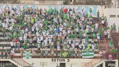 Guarani vence o Guaratinguetá e abre quatro pontos de vantagem na liderança do grupo B - A equipe do Guaratinguetá perdeu por 1 a 0 para o Guarani. O Bugre desperdiçou várias oportunidades e só marcou o gol da vitória aos 35 minutos da segunda etapa com Renato Henrique, que havia acabado de entrar no jogo.
