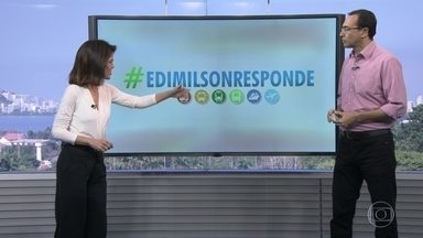 Edimilson Ávila responde mais perguntas de internautas sobre o trânsito na Olimpíada - Mande sua dúvida pelas redes sociais com a hashtag #edimilsonresponde