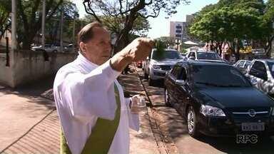 Dia do motorista é comemorado com bênção em Umuarama - Hoje é dia de São Cristóvão o padroeiro dos motoristas