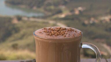 """Quadro """"Prato Fácil"""" traz receita de bebida com leite e chocolate - Quadro """"Prato Fácil"""" traz receita de bebida com leite e chocolate"""
