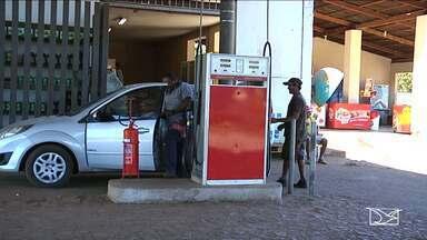 Bandidos assaltam posto de combustível no município de Caxias - Assalto foi registrado no povoado Brejinho; segundo moradores, os assaltos no local são constantes.