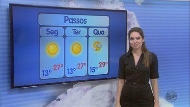 Confira a previsão do tempo para esta segunda-feira (25) - Confira a previsão do tempo para esta segunda-feira (25)