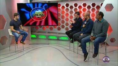Confira o Central Gre-Nal desta segunda (25) - O programa apresentado por Eduardo Moura conta com a presença dos convidados Caco da Motta, do canal OCTO, Márcio Chagas e Diogo Olivier, comentaristas da RBS TV.