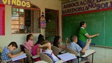 Quatro em cada dez moradores do Sol Nascente não completaram o Ensino Fundamental - A última pesquisa da Codeplan apontou também seis mil crianças, menores de 6 anos fora da escola.