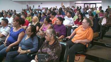 Moradores da ocupação do Buba participaram de uma audiência hoje - Em noventa dias, a defensoria pública deverá apresentar a defesa das famílias que vivem no local.