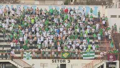 Guarani vence o Guaratinguetá e segue líder na série C do Campeonato Brasileiro - Placar foi de 1 a 0. Vitória dá seguimento na liderança do time na série C.