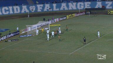Time do Sampaio Corrêa empata com o Londrina - O próximo jogo do Sampaio será no domingo (31), contra o Atlético Goianiense, em Goiânia.