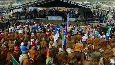 Missa do Vaqueiro em Serrita completa 46 anos de existência - Centenas de vaqueiros acompanharam a celebração e se emocionaram