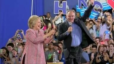 Começa convenção Democrata que deve confirmar Hillary como candidata - Os democratas querem, nos próximos quatro dias, mudar a história e indicar a primeira mulher de um grande partido para disputar a presidência americana.