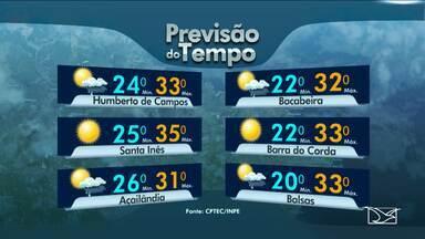 Veja como fica o tempo nesta quarta-feira (28), véspera de feriado estadual - Veja como fica o tempo nesta quarta-feira (28), véspera de feriado estadual, em todo o Maranhão.