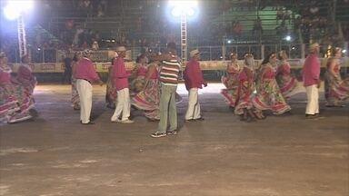 Primeiro dia do 35ª Arraial Flor do Maracujá - Evento está sendo realizado no Parque dos Tanques.