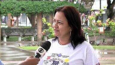 Ações em comemoração ao Dia do Motorista são realizadas em Arapiraca - A coordenadora do Programa de Promoção da Saúde de Arapiraca, Fátima Ramalho fala sobre o projeto.