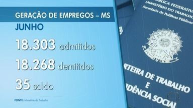 MS fica em 7º no ranking nacional de geração de emprego - Agropecuária foi setor que mais abriu vagas.