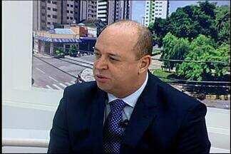 Superintendente da Caixa no Centro-Oeste de MG fala sobre novas regras de financiamento - Marcelo Ângelo de Paula Bonfim explica o porquê das mudanças. A mudança começou a valer na segunda-feira (25).