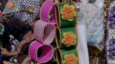 Dia de Feira: feirantes do bairro Universitário ganham vida com artesanato em Campo Grande - Dia de Feira: feirantes do bairro Universitário ganham vida com artesanato em Campo Grande