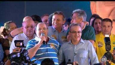 Convenção do PSDB oficializa nome de Firmino como candidato à reeleição - Convenção do PSDB oficializa nome de Firmino como candidato à reeleição