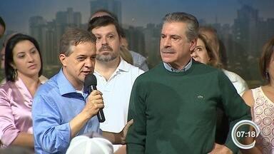 Carlinhos Almeida tentará a reeleição à prefeitura de São José pelo PT - Convenção do partido ocorreu neste domingo.