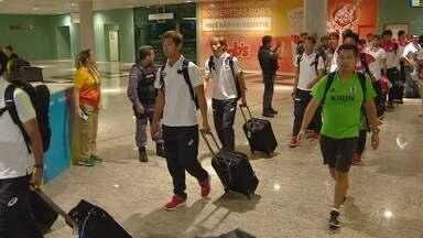 Japão chega ao AM após perder para o Brasil - Equipe estreia na Rio 2016 no dia 04 de agosto, contra a Nigéria, na Arena da Amazônia.