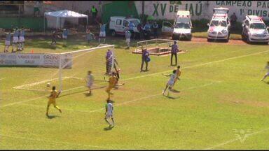 Jabaquara perde invencibilidade após partida contra o XV de Jaú - Partida terminou 2 a 0.