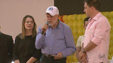 Coligação do PSB oficializa Airton Garcia como candidato a prefeito de São Carlos - Convenção definiu Giuliano Cardinalli (PSD) como vice.