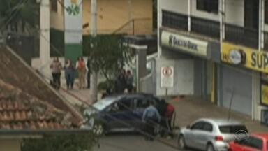 Duas agências foram assaltadas nesta segunda-feira em Nova Roma do Sul no RS - Segundo a Brigada Militar o número de assaltos à agências bancárias na Serra dobrou em relação ao mesmo período no ano passado.