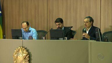 Magistrados e membros do MP se reúnem com senadores de Sergipe - Encontrou aconteceu nesta segunda-feira no TRE.