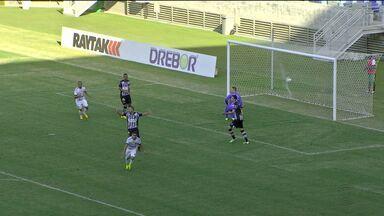 Botagogo perdeu para o Cuiabá no Campeonato Brasileiro da Série C - Veja os gols.