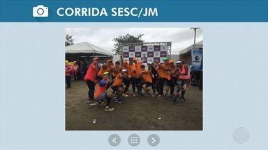 Veja as fotos dos telespectadores no Circuito Sesc de Caminhada e Corrida em Conquista - Confira os registros.