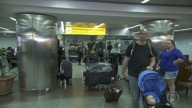 Risco de febre amarela faz Anvisa aumentar o controle na entrada do país - Aqui no Brasil, a vigilância está reforçada nos aeroportos por causa da Olimpíada.