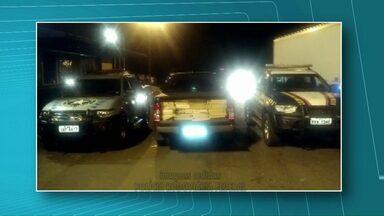 Casal é preso por trafico - Marido e mulher foram presos pela Polícia Rodoviária Federal no posto da BR-163.