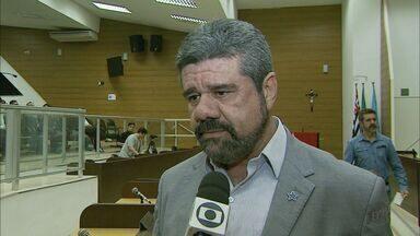 PT oficializa candidatura de Gilmar Dominici à Prefeitura de Franca, SP - Candidato apresentou propostas de governo durante convenção na noite de quarta-feira (3).