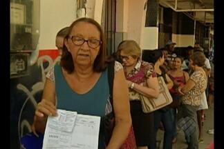 Consumidores denunciam longas filas para atendimento na Celpa - Consumidores denunciam longas filas para atendimento na Celpa