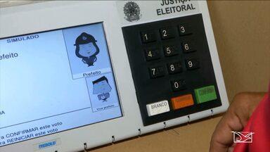 Eleitores de Imperatriz participam de uma votação simulada - Projeto realizado pelo TRE visa exercitar o eleitor ao sistema de voto biométrico.