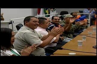 Solidariedade faz convenção e lança candidatos a vereador em Araxá - Convenção foi realizada nesta quarta-feira (3).Partido vai apoiar candidatura de Mauro Chaves para prefeito.