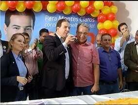 PSB lança Ruy Muniz como candidato a prefeito de Montes Claros - Coligação de 10 partidos apresentou 70 candidatos a vereador.
