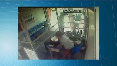 Bandido é morto durante tentativa de assalto em Campina Grande - Imagens de circuito de câmera de segurança mostram como tudo aconteceu.