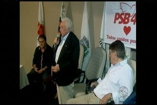 PSB e PPS em Araxá divulgam candidatos a vereador e coligação - Convenção foi realizada nesta quarta-feira (3). Partidos confirmaram apoio para a reeleição de Aracely de Paula.